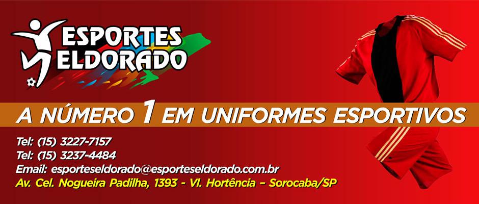 A Eldorado Esportes é numero 1 em uniformes